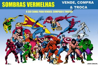 SOMBRAS VERMELHAS COMPRA, VENDE E TROCA
