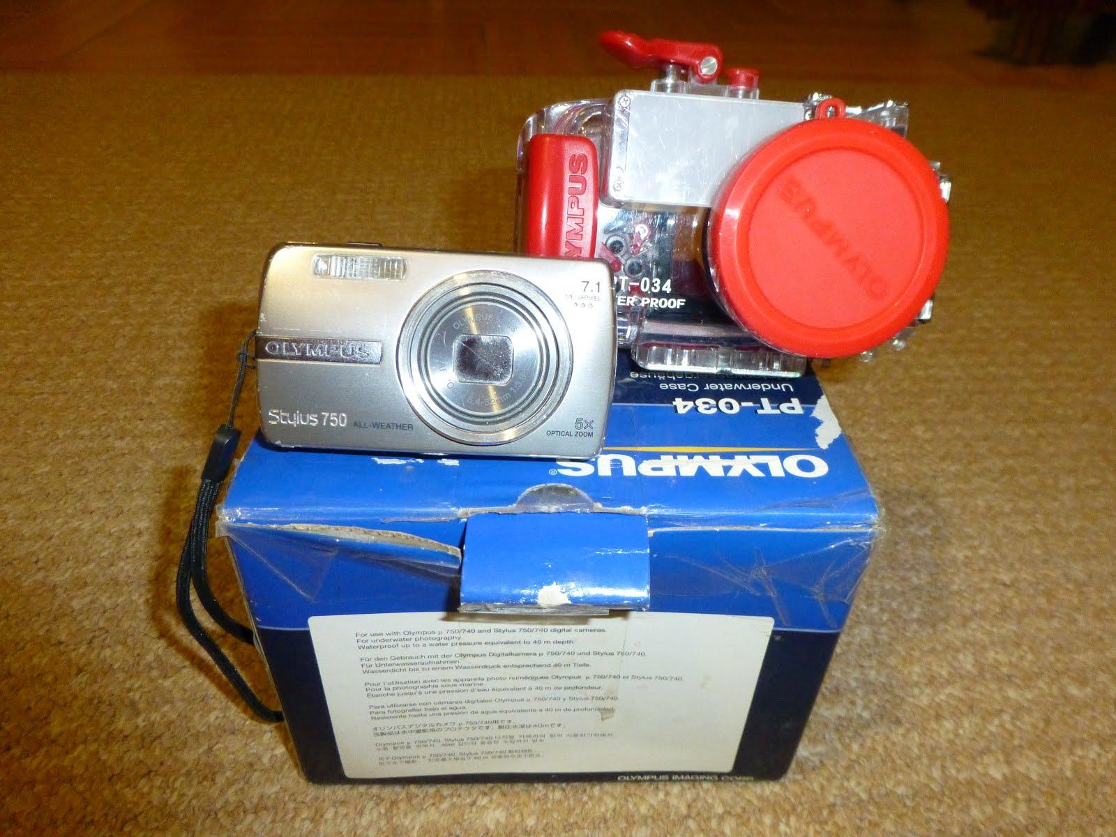 ψηφιακή κάμερα olympus 7mp και υποβρύχια θήκη καινούργια