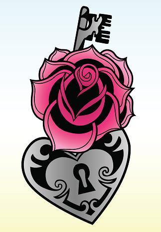 roses tattoos for girls