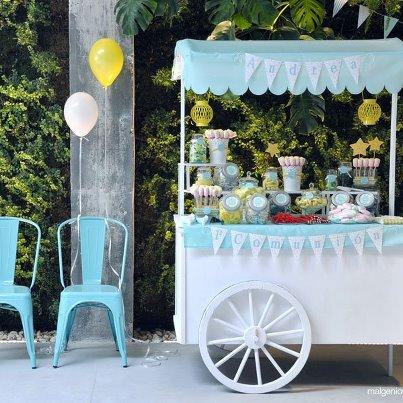 Carro de chuches tu boda de ensue o - Ideas para decorar mesas de chuches ...