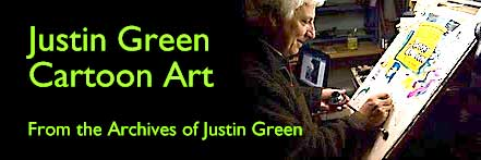 Justin Green Cartoon Art