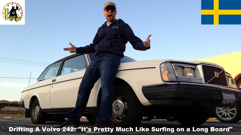 DTPC: Professional Drifter Carl Rydquist Gives Us Drifting Lessons In A Stock Volvo 242