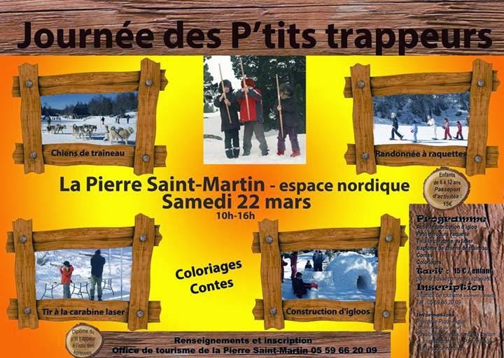 Journée des enfants trappeurs 2014 à la Pierre Saint-Martin