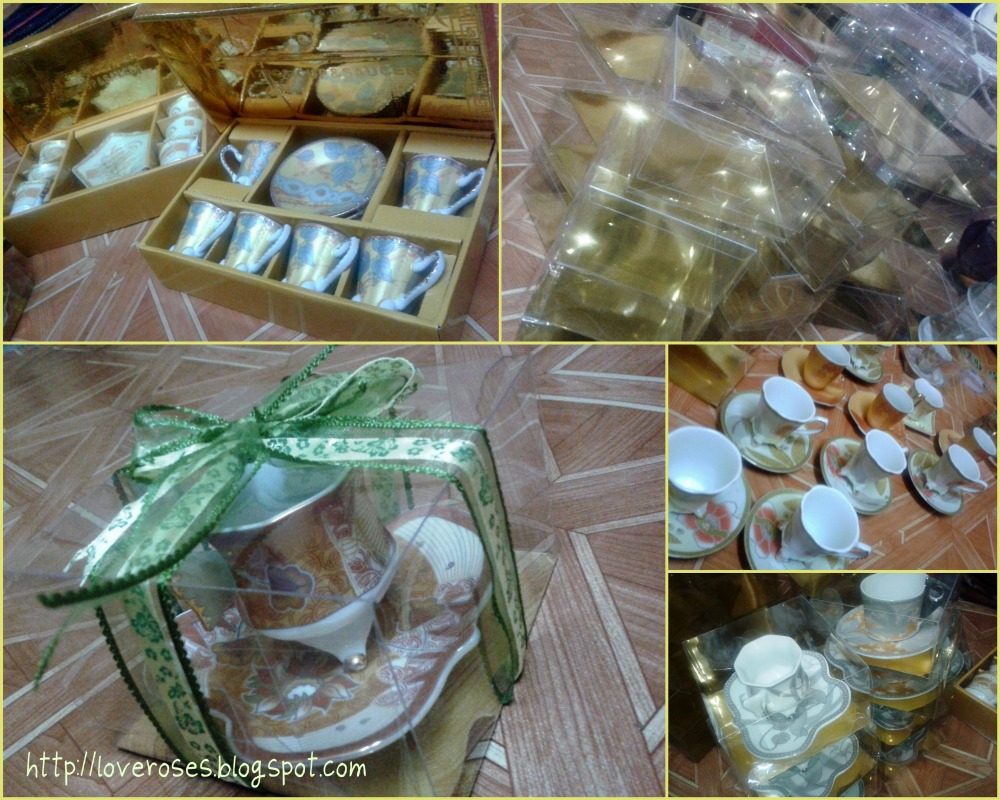 Rozelt persiapan tunang packaging door gift for Idea door gift tunang