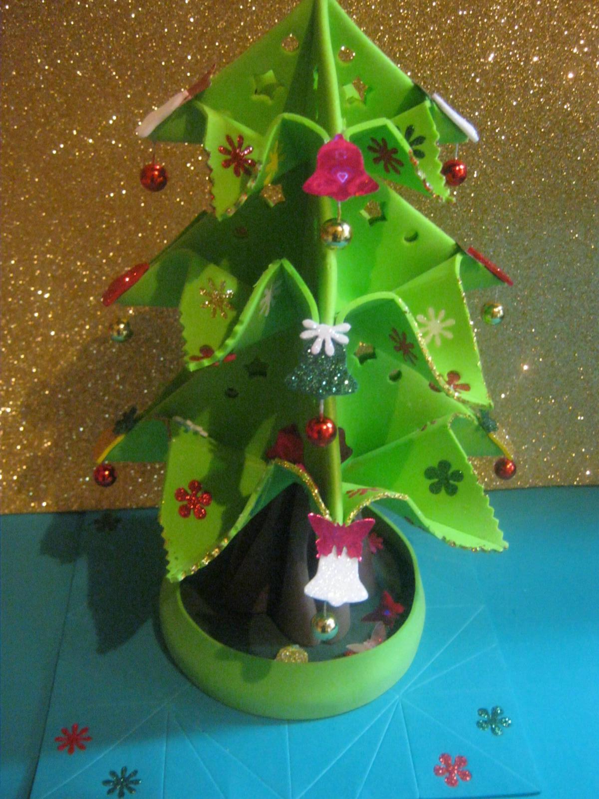 Zona purpura christmas tree arbolito de navidad arbol - Trabajos en goma eva navidad ...
