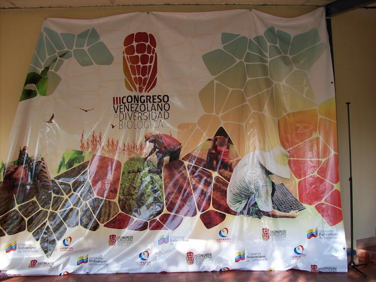 III CONGRESO DE DIVERSIDAD BIOLÓGICA 2012