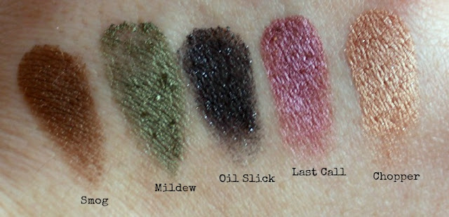 Urban Decay Spring Collection 2013 Swatches