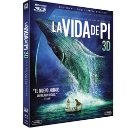 La Vida de Pí - Blu-ray 3d