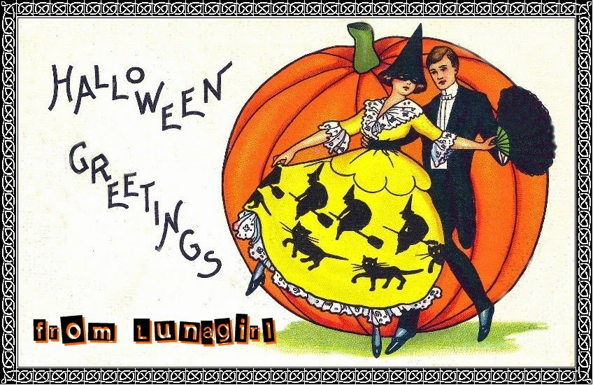 vintage Halloween images download