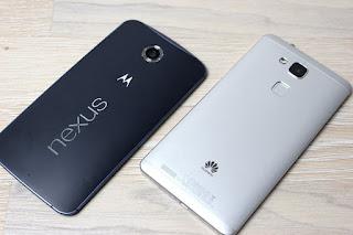 LG Nexus 5 2015 and Huawei Nexus 6