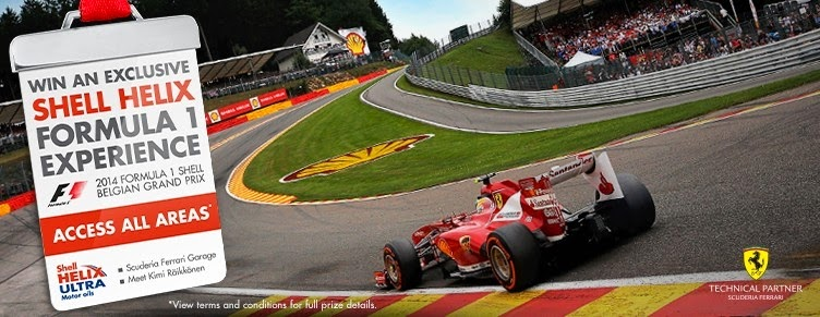 Shell Ferrari Ultimate Experience Contest 2014