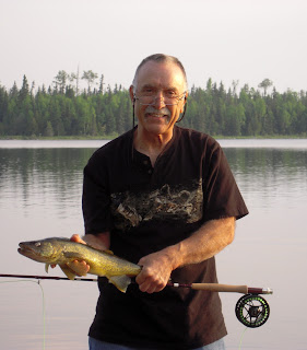 Walleye Fly Fishing Ontario Canada