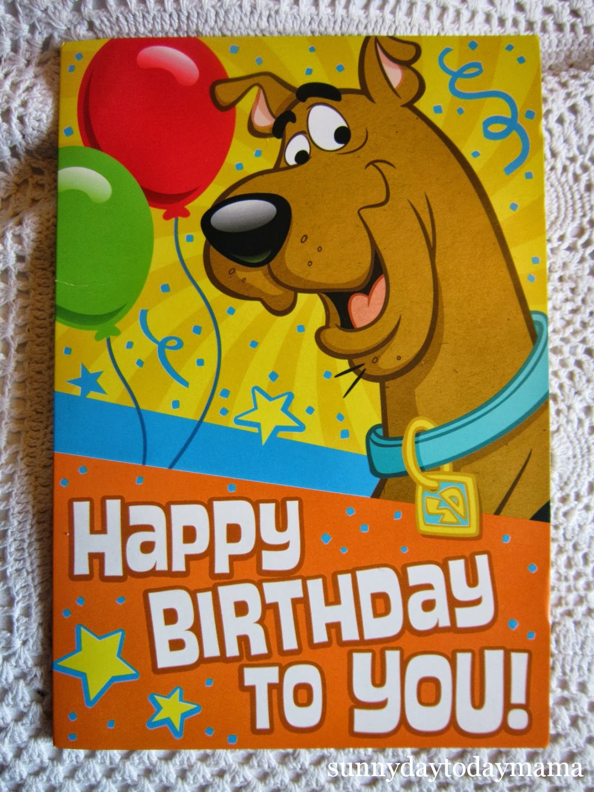 Scooby Doo Birthday Cake Uk