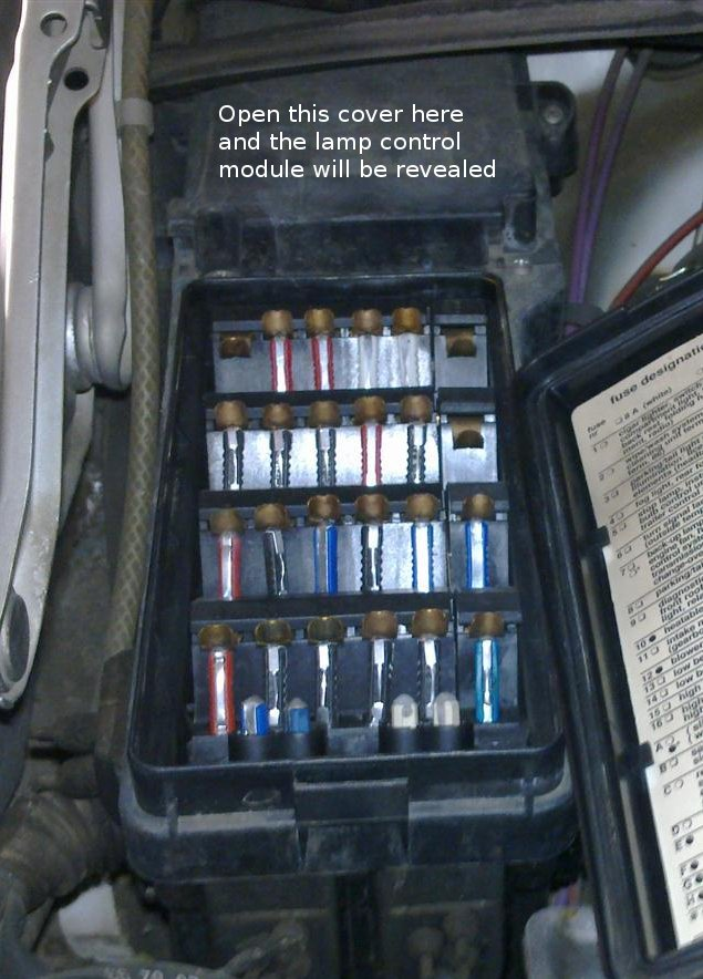 fusebox w124 madness singapore lighting control module removal mercedes w124 fuse box location at webbmarketing.co
