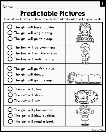 Reading Worksheets For Kindergarten : ABITLIKETHIS