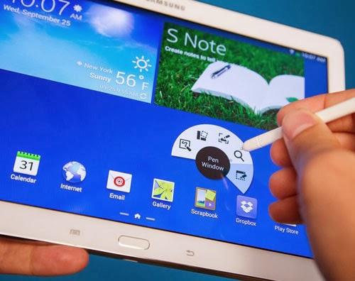 Những thủ thuật cho Galaxy Note 10.1 mà bạn nên biết