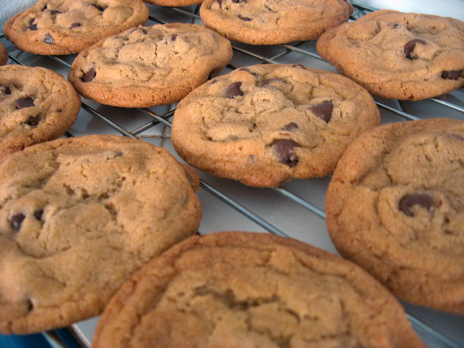 Browned Butter Chocolate Chip Cookies by freshfromthe.com
