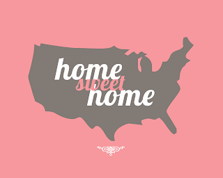 Home Sweet Home Poster pink