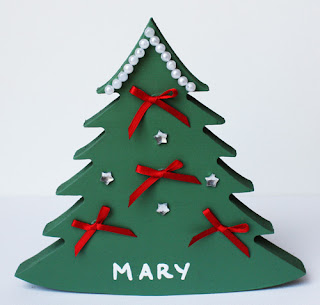 Personalised Christmas Decorations Tree Xmas