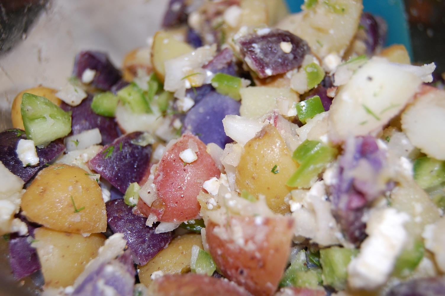 Red, White, And Blue Potato Salad Recipes — Dishmaps