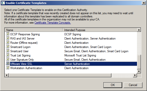 Vmware ssl certificate template image collections certificate katalykt preparing a microsoft ca ssl certificate template for once that were in the enable certificate yadclub Images