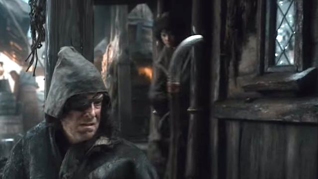 """Stephen Colbert har ögonlapp i sin cameo i """"The Desolation of Smaug"""""""