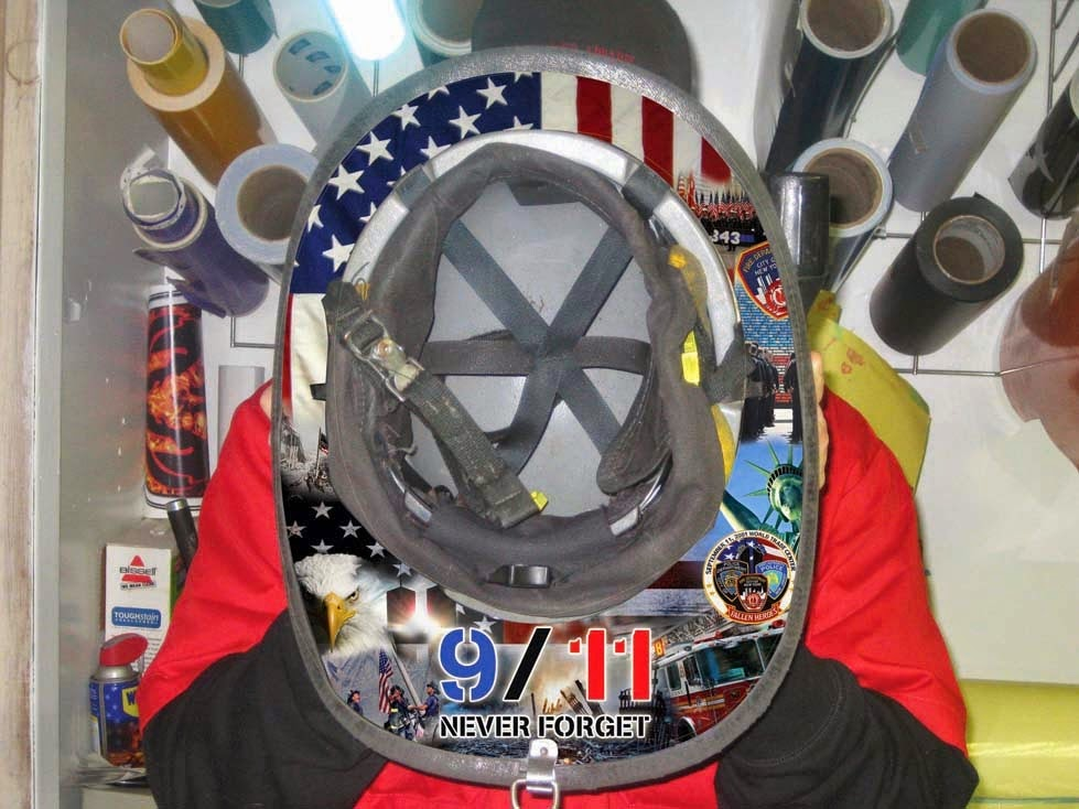 Patch Project News Thank You Heavy Smoke Apparel - Fire helmet decals