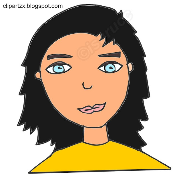Young Woman Thinking #2. Clipart, Clip Art Illustrations, Images ..