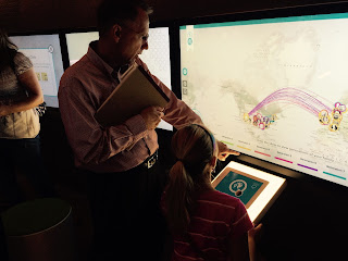 FamilySearch Discovery Center, teaching children genealogy, reunion