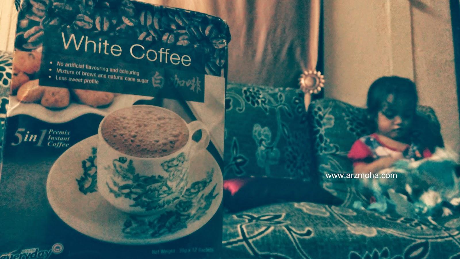 Elken, Pesona dan Mustika, White Coffee 5 in 1, arzmoha, istimewa dari blogger,