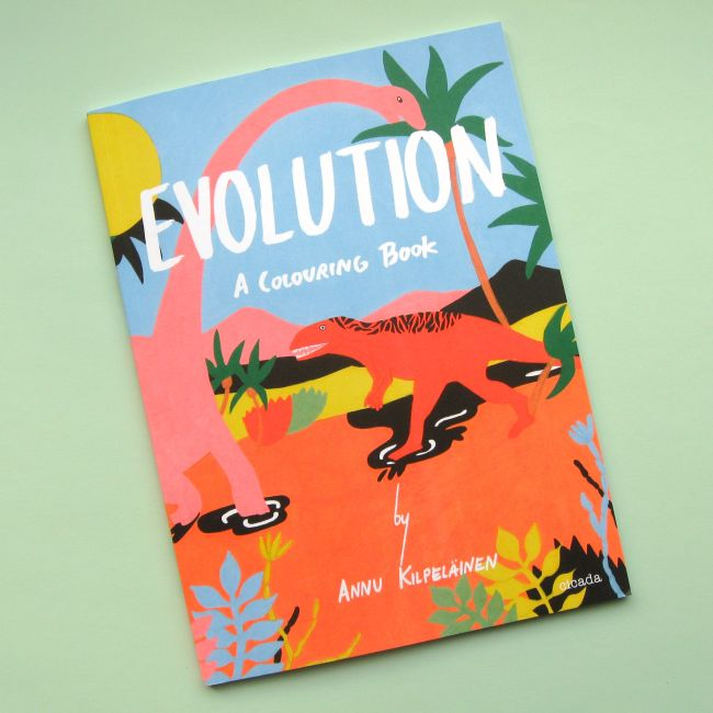 Bugs and Fishes by Lupin: Book Review: Evolution: A Colouring Book