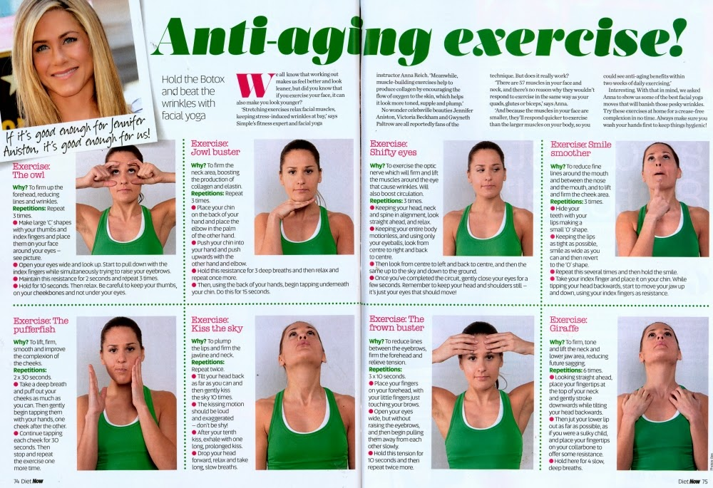 Facial Yoga: Anti-Aging Exercises