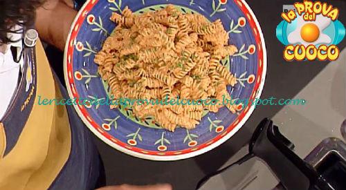 Fusilli con crema di peperoni grigliati ricetta Bianchi da Prova del Cuoco