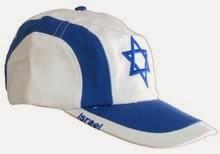 Gorra Bandera Israel
