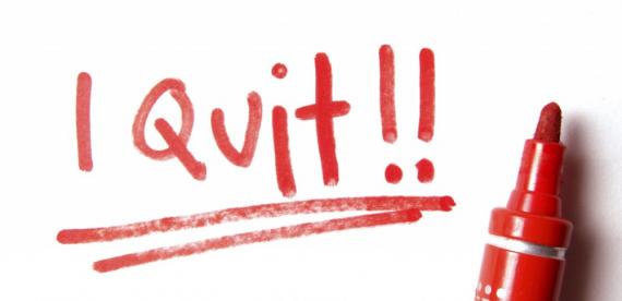 i quit blogging