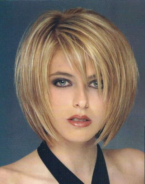 The Cool Short To Medium Hairstyles With Bangs Picture