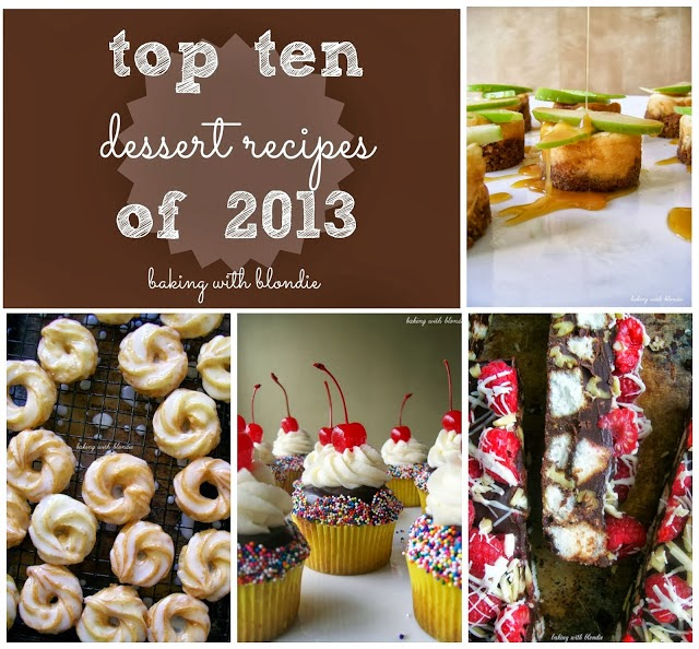 Top Ten Dessert Recipes from 2013