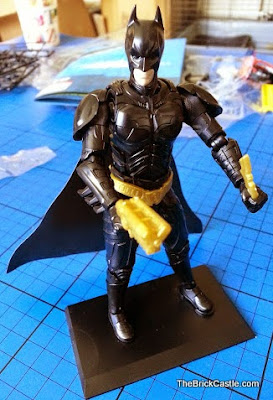 Bandai SpruKit figure Level 2 Batman The Dark Knight Rises grapple gun and Batarang