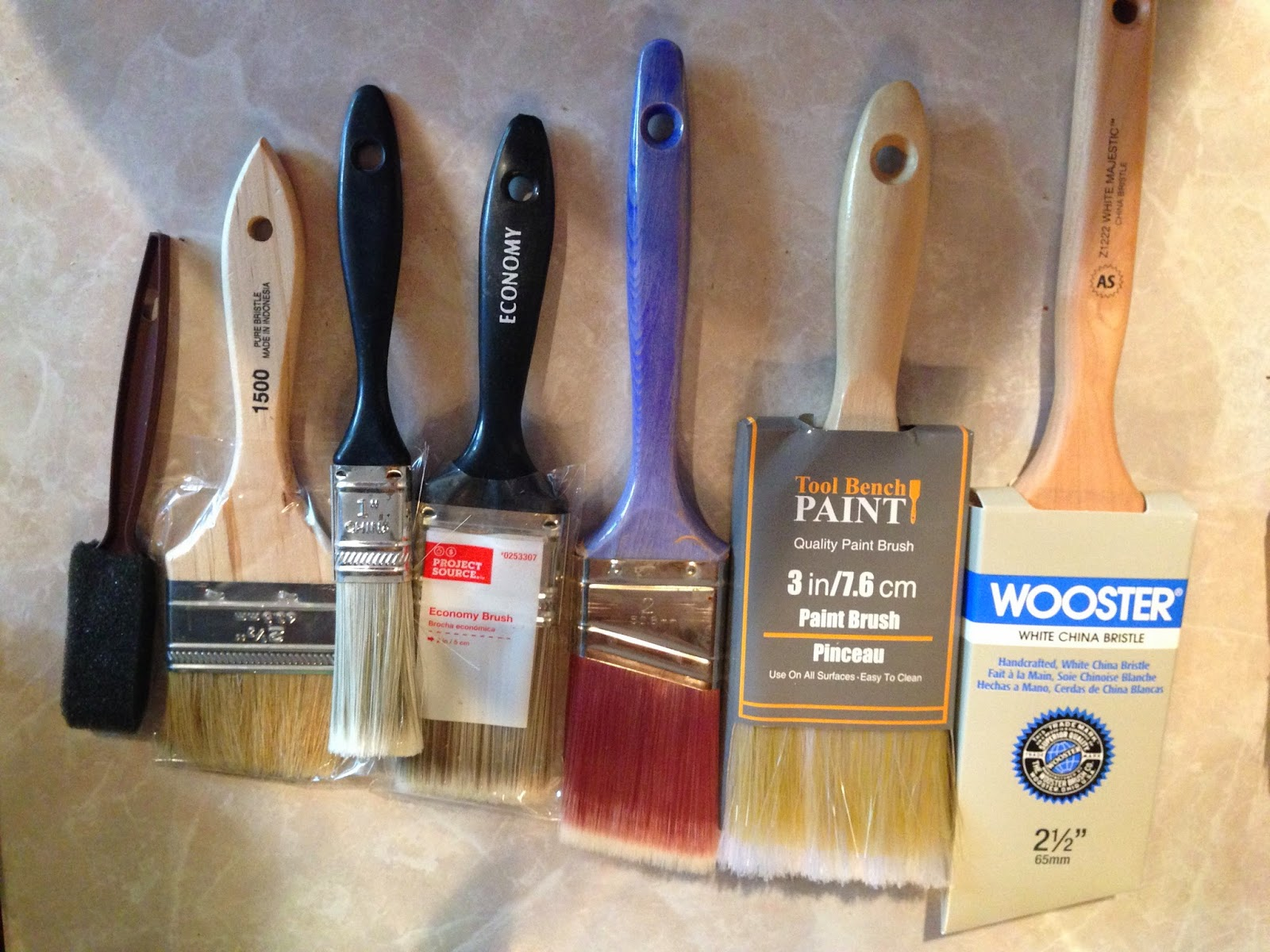 How to clean paintbrushes - Natural Hair Brushes