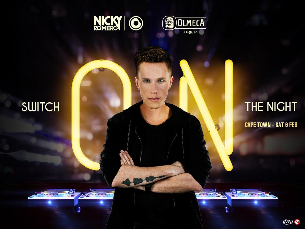 Olmeca Tequila to Switch On The Night With Nicky Romero