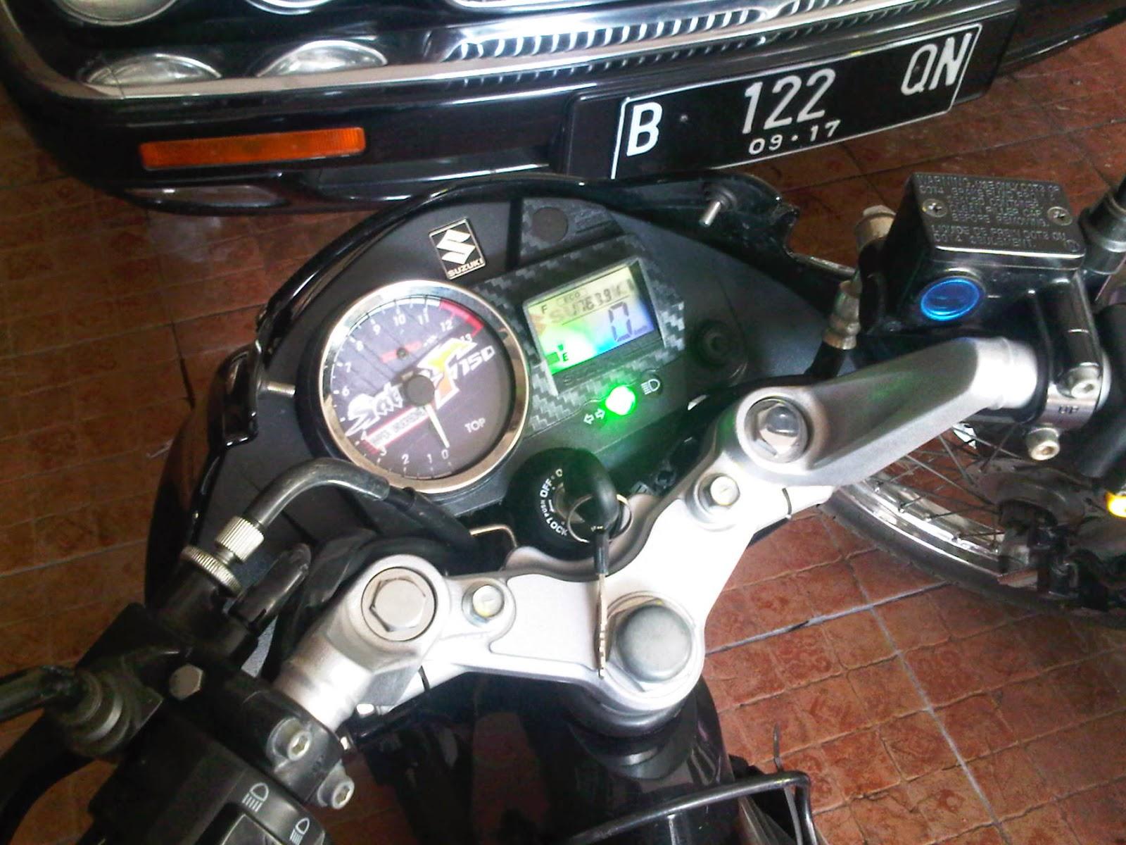 Mendol Umah Gedek: Variasi tampilan RPM speedometer satria FU 150