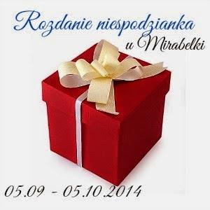 Mirabelka rozdaje niespodzianki :) do 5.10!