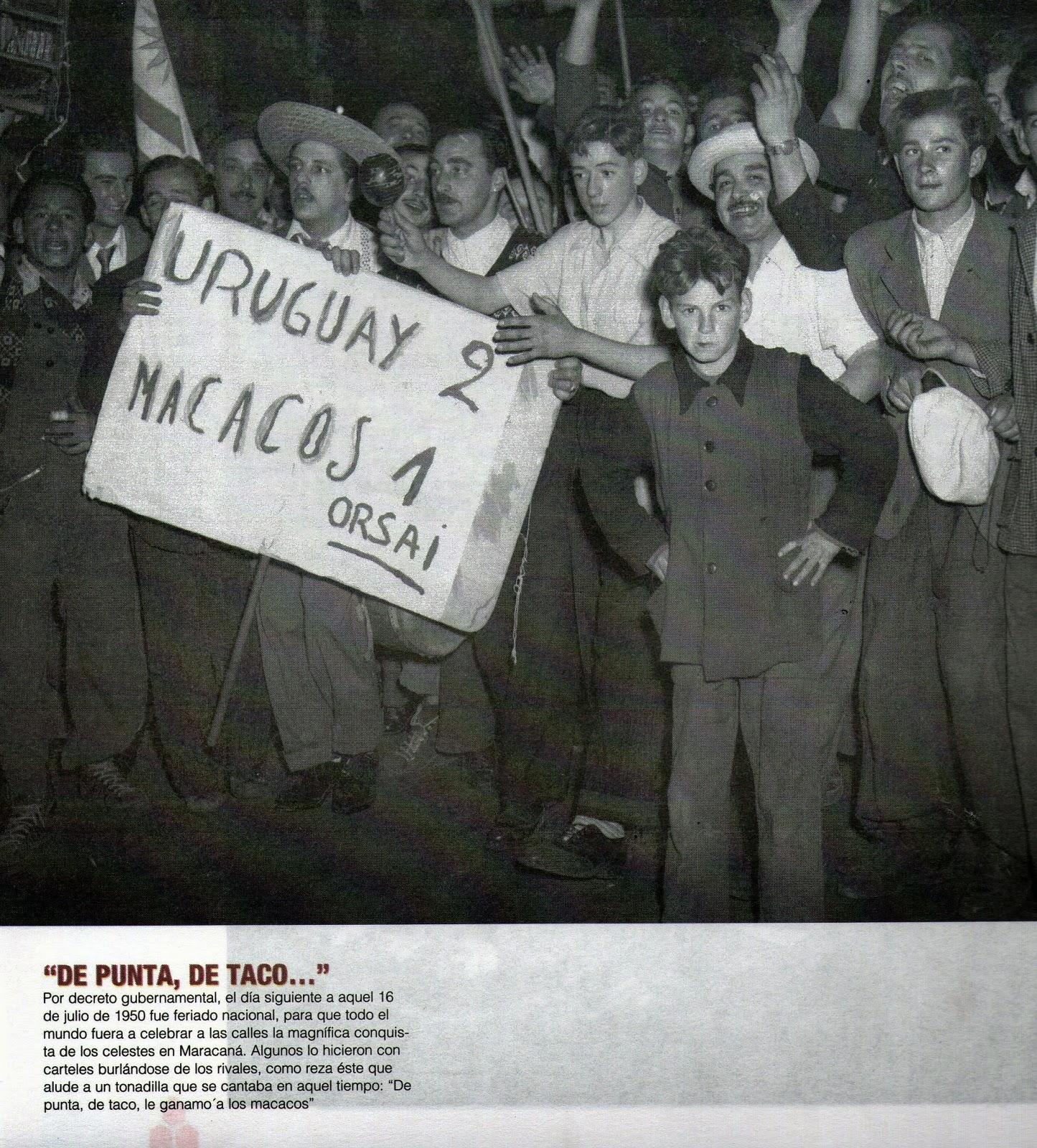 ANOTANDO FšTBOL URUGUAY 1950 PARTE 10