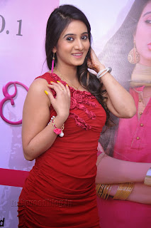 Harshika Pooncha latest Pictures in red 010.jpg