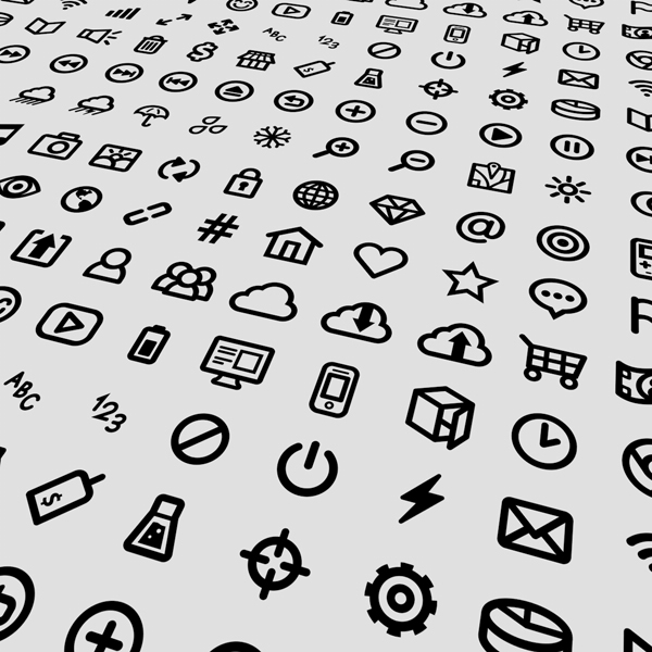 80 small icons vector design set - Free for commercial: www.free4commercial.com/2013/09/80-small-icons-vector-design-set.html
