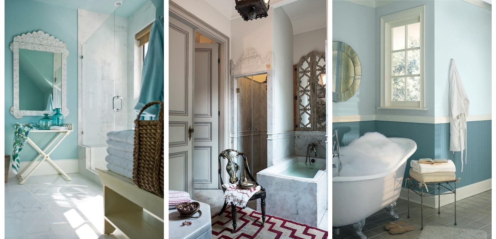 tadelakt salle de bain moderne. Black Bedroom Furniture Sets. Home Design Ideas
