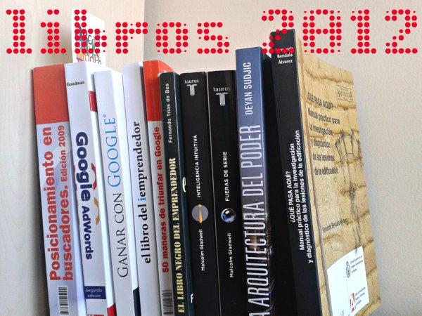 libros de Javier Luna Corento 2012