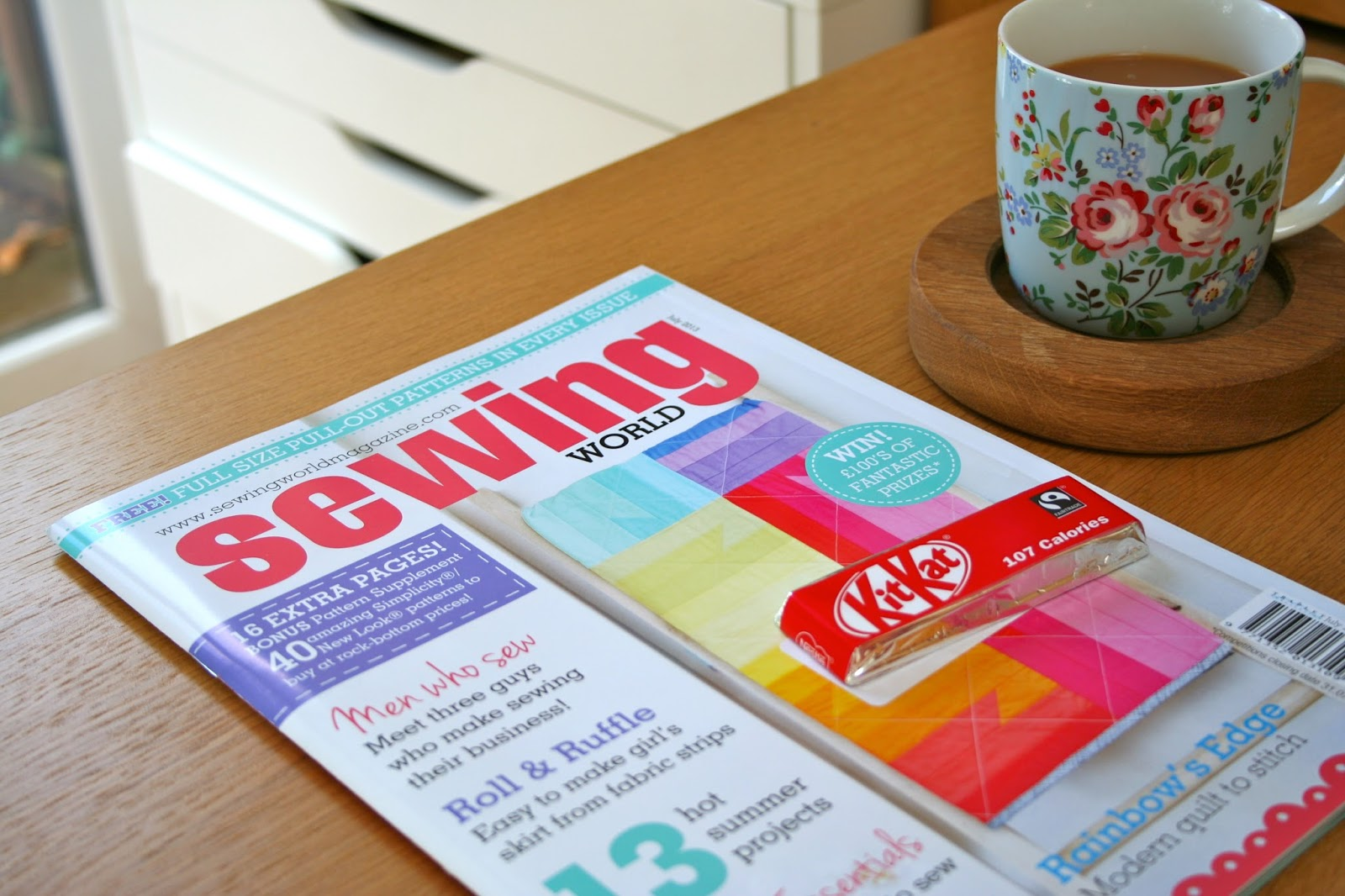 Evajeanie and the sewing machiney review sewing world magazine now as im sure youll have noticed it has been a very busy time here at evajeanie what with the world and their granny ordering bunting and my little eva jeuxipadfo Choice Image