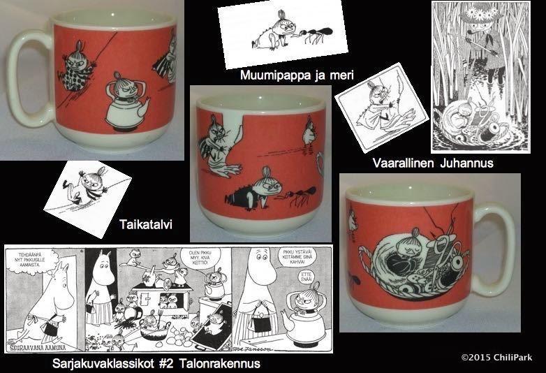 Moomin mug girl