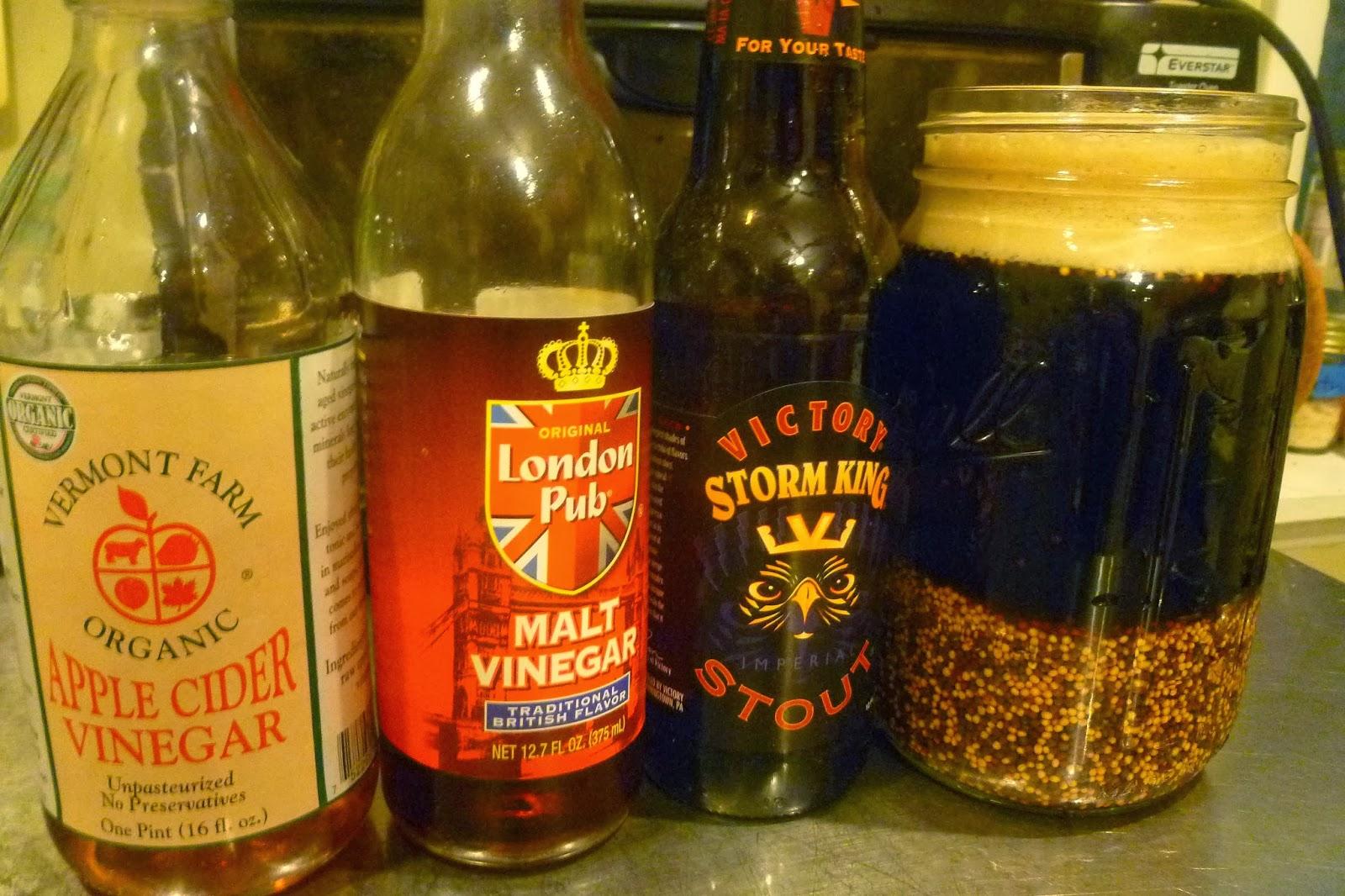 Grow. Eat. Mix. Drink.: Spicy Beer Mustard